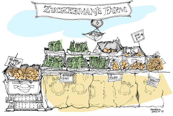 Zuckerman Potato & Asparagus Stand, Ferry Bldg Farmers Market, SF
