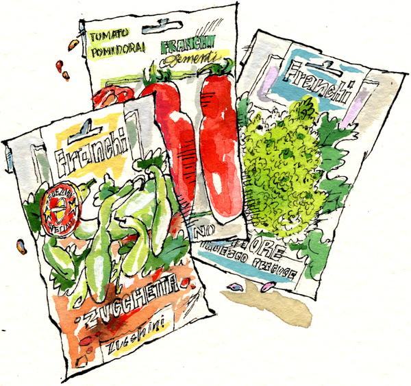 Italian Seed Packets